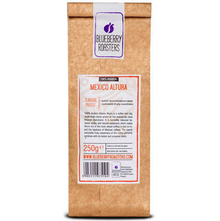 COFFEE BEANS MEXICO ALTURA 250 G