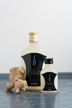 GINGER ESPRESSO SYRUP FOR COFFEE 500 ML