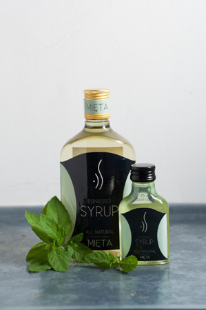 MINT ESPRESSO SYRUP FOR COFFEE 500 ML