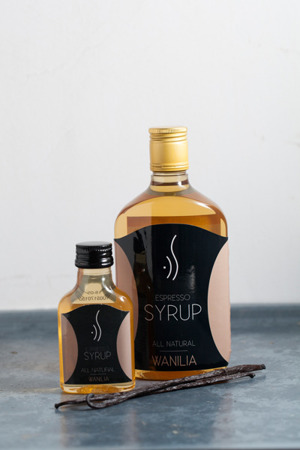 VANILLA ESPRESSO SYRUP FOR COFFEE 500 ML